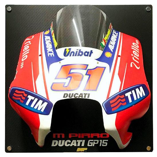 Michele Pirro Ducati GP15 Front fairing