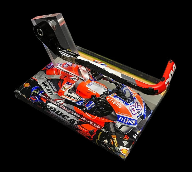 Andrea Dovizioso brake guard
