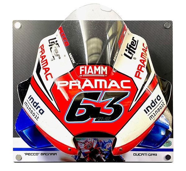"""""""Pecco"""" Bagnaia GP19 front fairing"""