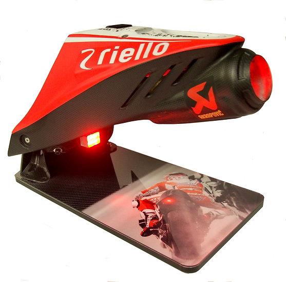 "Andrea Dovizioso Ducati GP15 tail unit "" Wet race"""