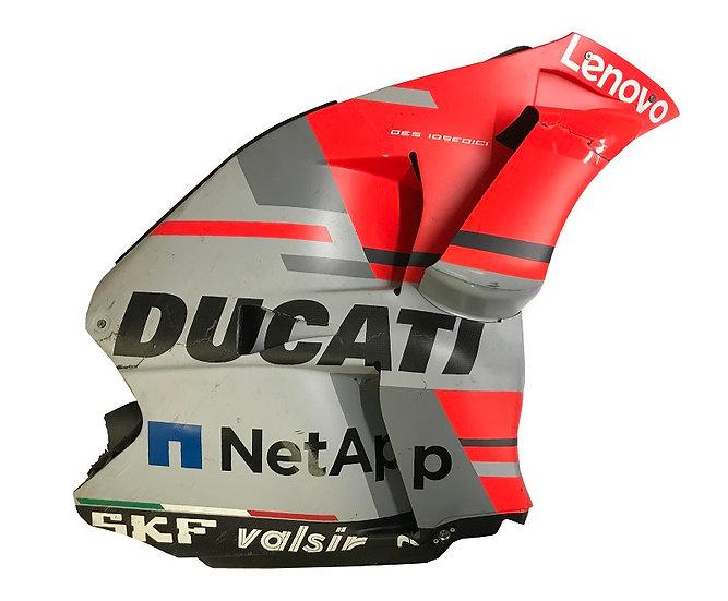 Jorge Lorenzo GP18 side fairing with wing