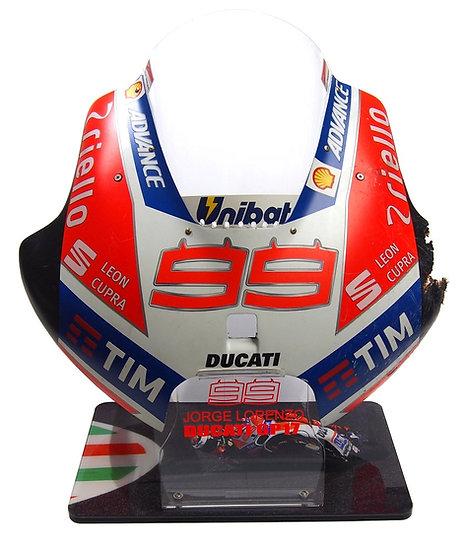 Jorge Lorenzo GP17 front fairing