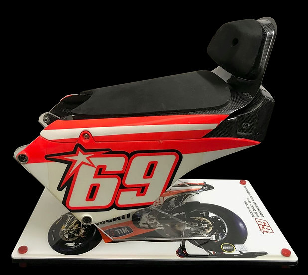 Nicky Hayden Subframe and seat