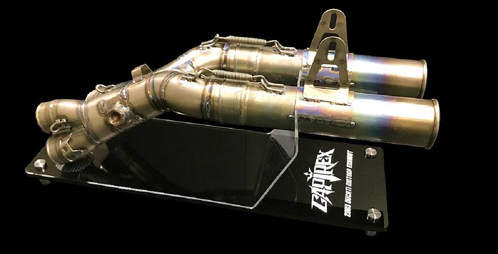 2003 Loris Capirossi titanium exhaust