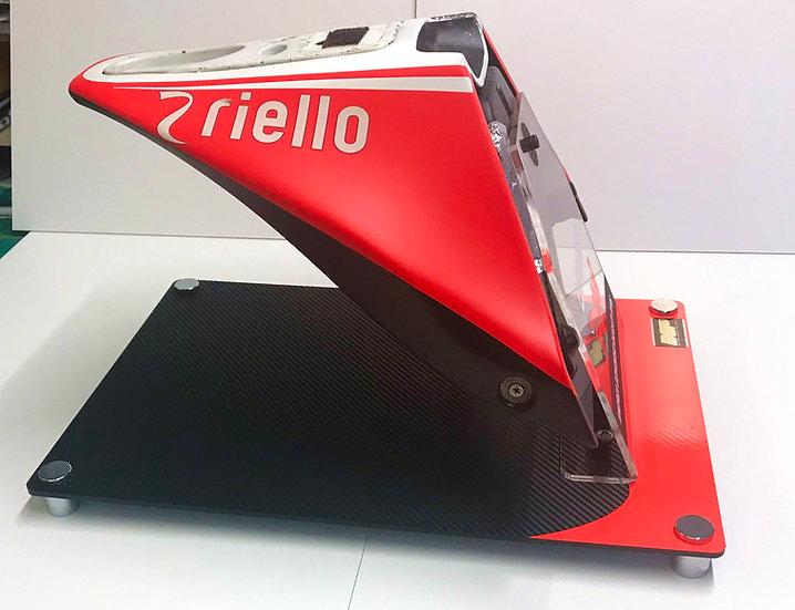Andrea Dovizioso Ducati GP15 tail unit