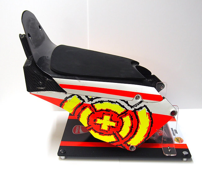 Andrea Iannone 2013 carbon subframe and seat pad