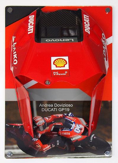 Andrea Dovizioso GP19 tank cover