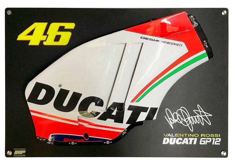 Valentino Rossi 2012 side panel