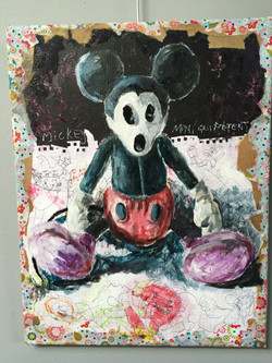 Alonzi peinture