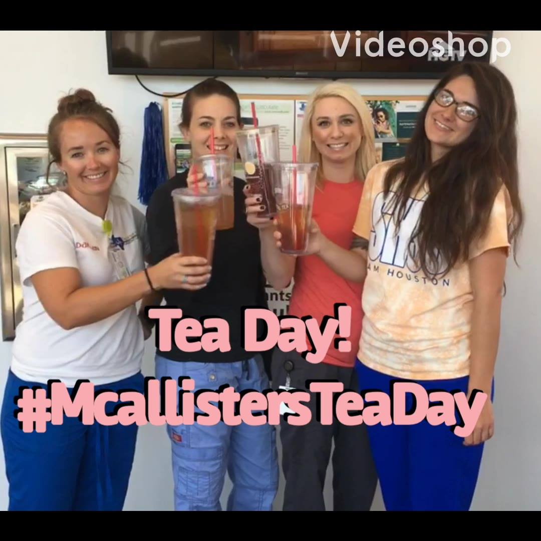 McAlister's Deli Tea Day 2019!