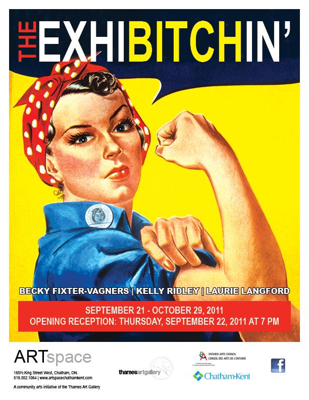 Exhibitchin Poster