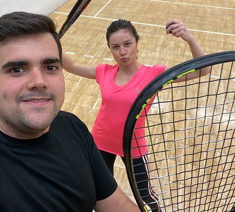 Bea and Cipriano racket ball.JPG