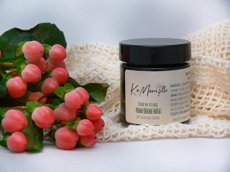 Crème pour le visage (peau sèche) 40 G