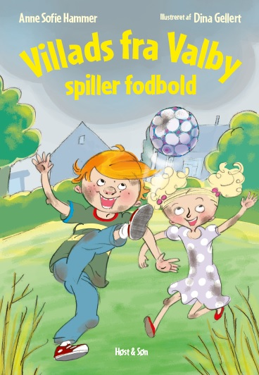 Villads fra Valby spiller fodbold