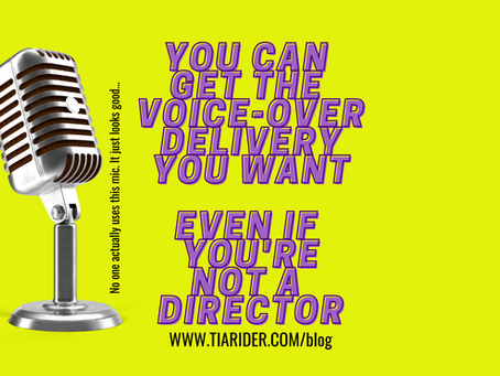 You Hired A Voice-Over Artist. Now What?