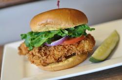 Braves Chicken Sandwhich