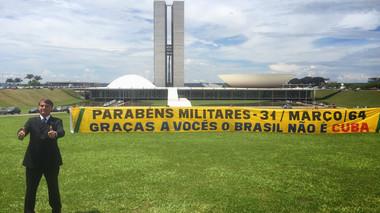 OBRIGADO FORÇAS ARMADAS, POR GARANTIREM QUE HOJE NÃO VIVAMOS EM UMA DITADURA COMO A DE CUBA.