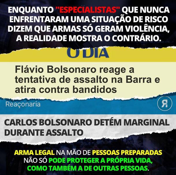 ARMAMENTO: PORTE / PORTE DE ARMA DE FOGO / PREPARO X FALÁCIAS.