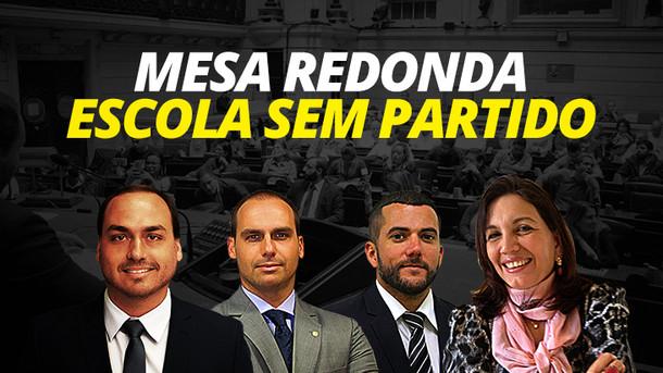 """RESUMO: MESA REDONDA """"PROJETO ESCOLA SEM PARTIDO"""" NO RIO DE JANEIRO."""