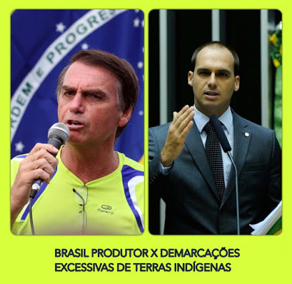 O CASO NUNCA FOI TÃO GRAVE - 2015, GOVERNO FEDERAL ESTIMULA INVASÕES DE TERRAS DE PRODUTORES EM PROL
