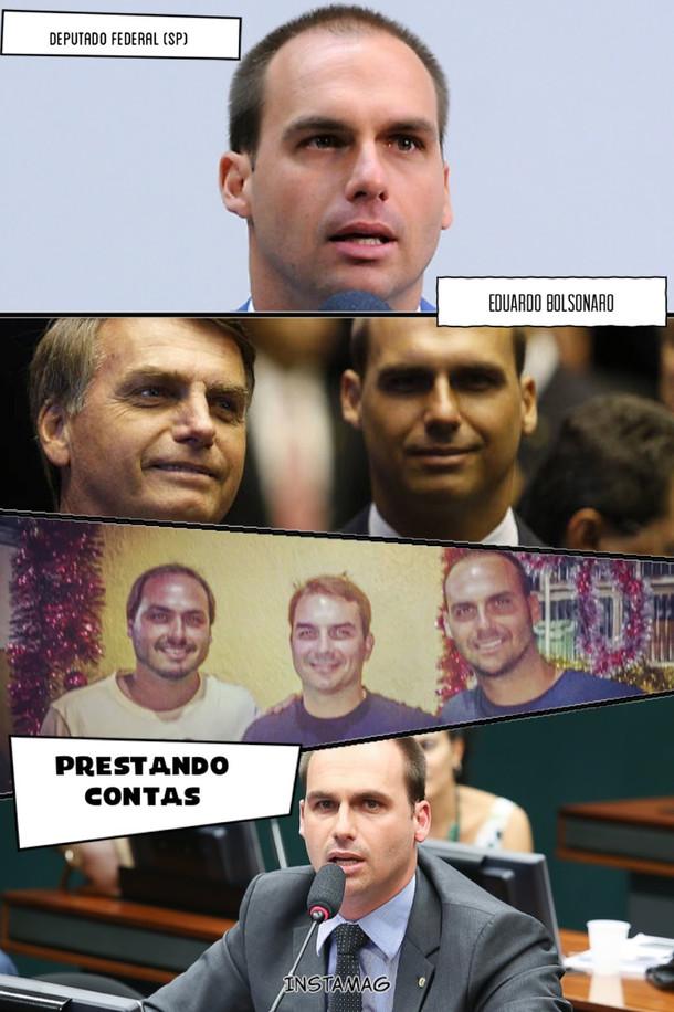 PRESTANDO CONTAS: O TRABALHO DO DEPUTADO FEDERAL EDUARDO BOLSONARO.