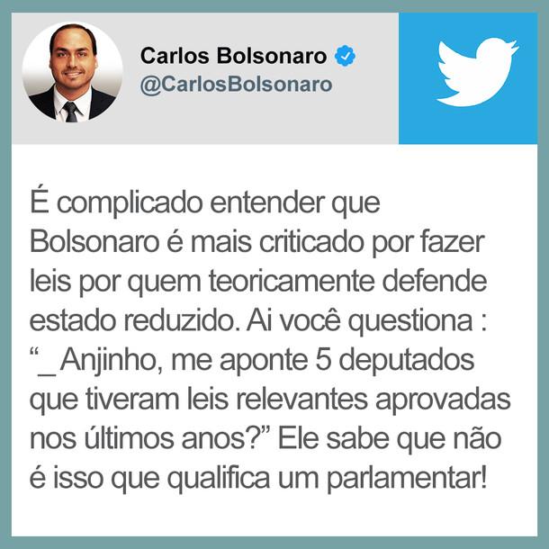 """ANÁLISE DA CANALHICE DO DIA: """"BOLSONARO NÃO TEM LEI APROVADA"""""""
