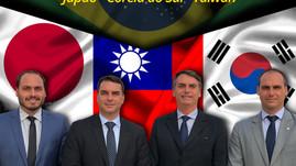 BOLSONARO NA ÁSIA | Japão, Coreia do Sul e Taiwan.