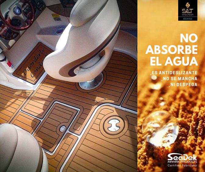 Podés navegar seguro y confortable disfrutando del diseño personalizado.
