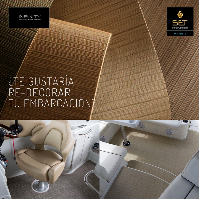 Nuevas alfombras para exterior exclusivas para náutica