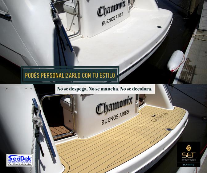 Seadek Marine Products te permite darle la calidez que necesitás para navegar todo el año.