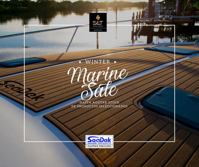 Seadek Marine Products y la oportunidad de disfrutar todo el año la navegación.