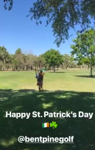 Piping at Bent Pine Golf Club