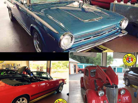 Five Classic Car Care Tips