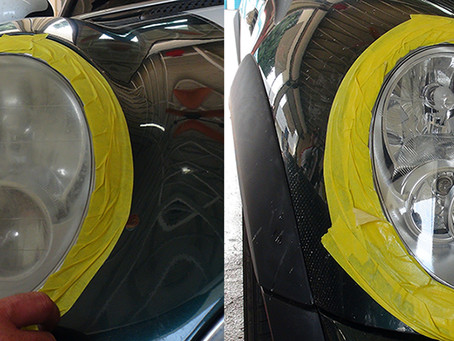 Mr. Oil Offers Headlight Restoration