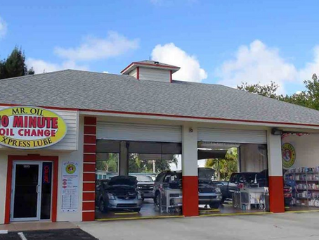 Fast, reliable oil change at Mr. Oil