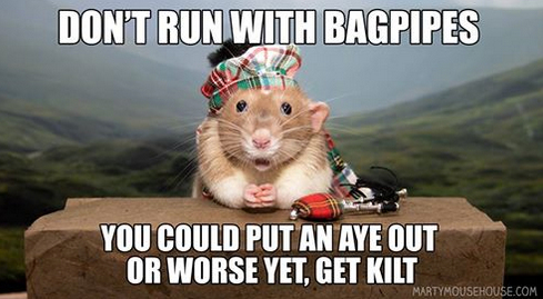 PSA: Bagpipe Safety