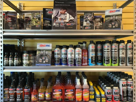 Mr. Oil offers AMSOIL products
