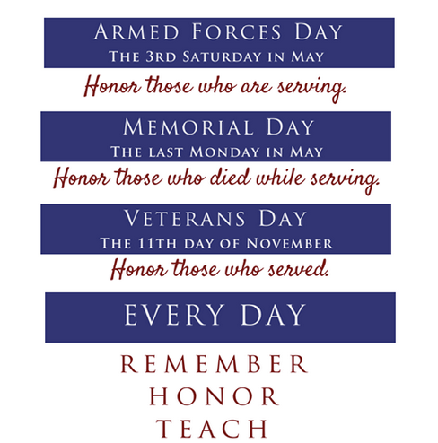 Remember Honor Teach