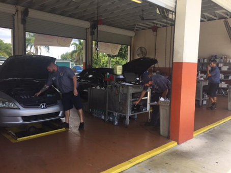 Fast, Reliable Oil Change While You Wait in Car
