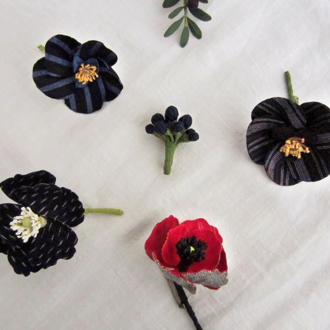 kiinoさんのお花のブローチ