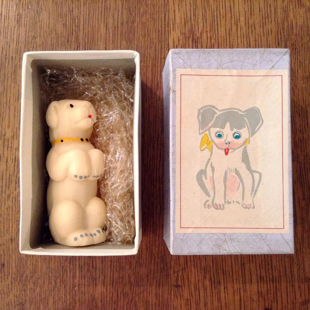 犬の石鹸の外箱