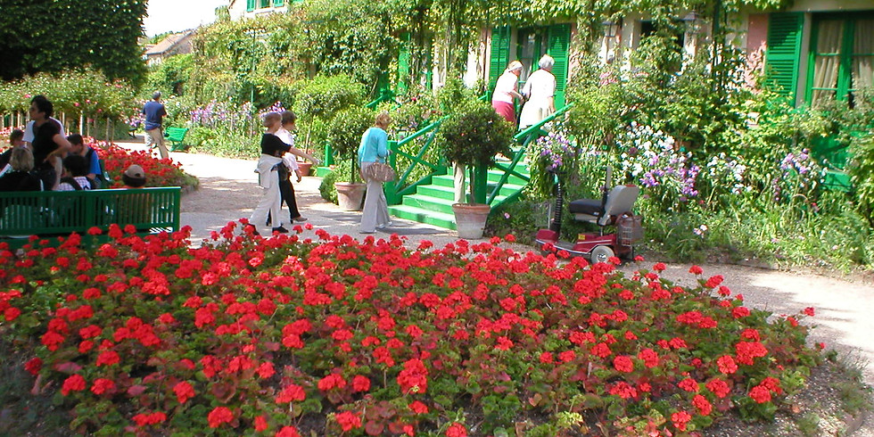Claude Monet's Garden and Giverny