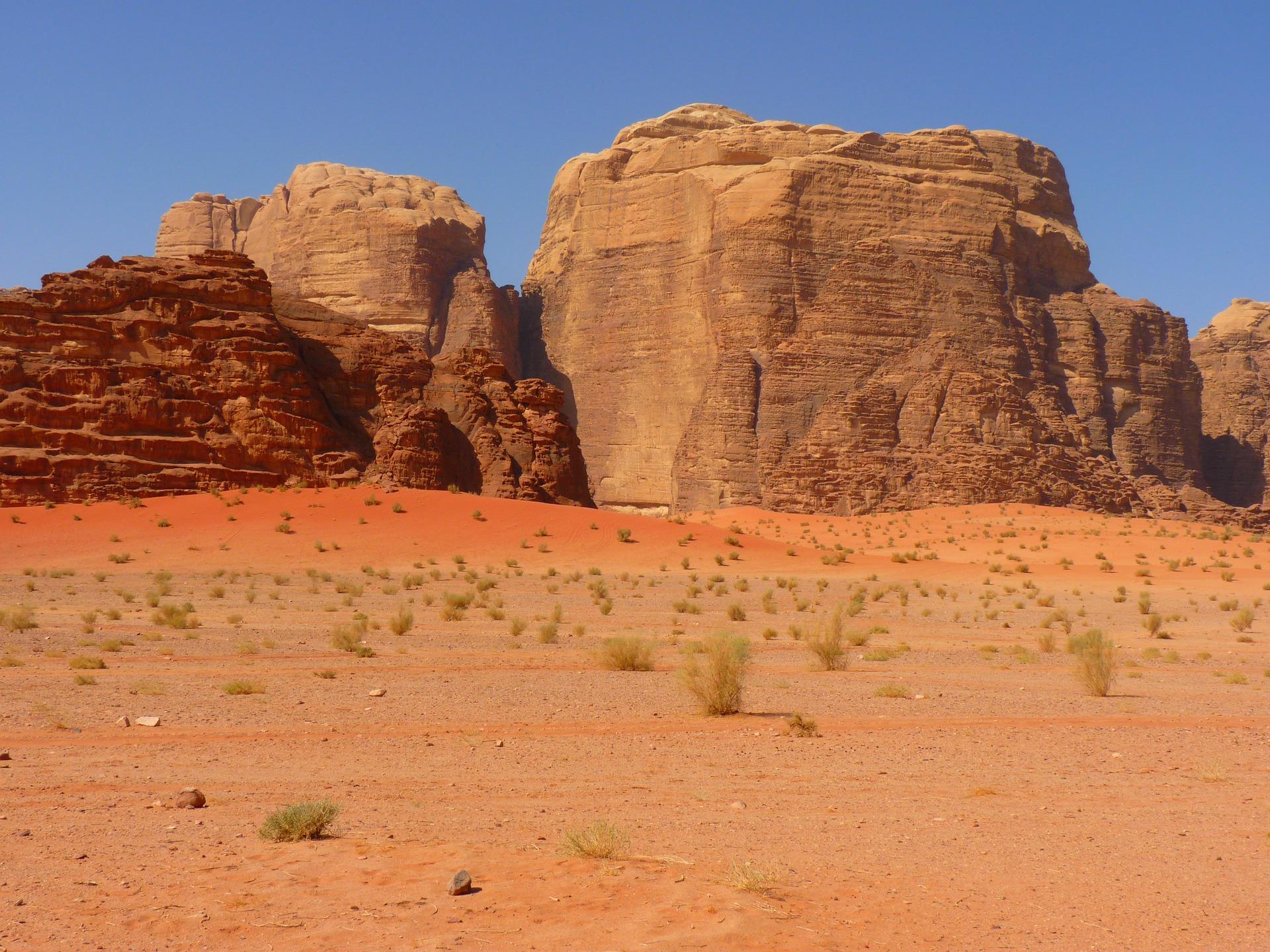 wadi-rum-3035_1920Jordan Negev Desert pi