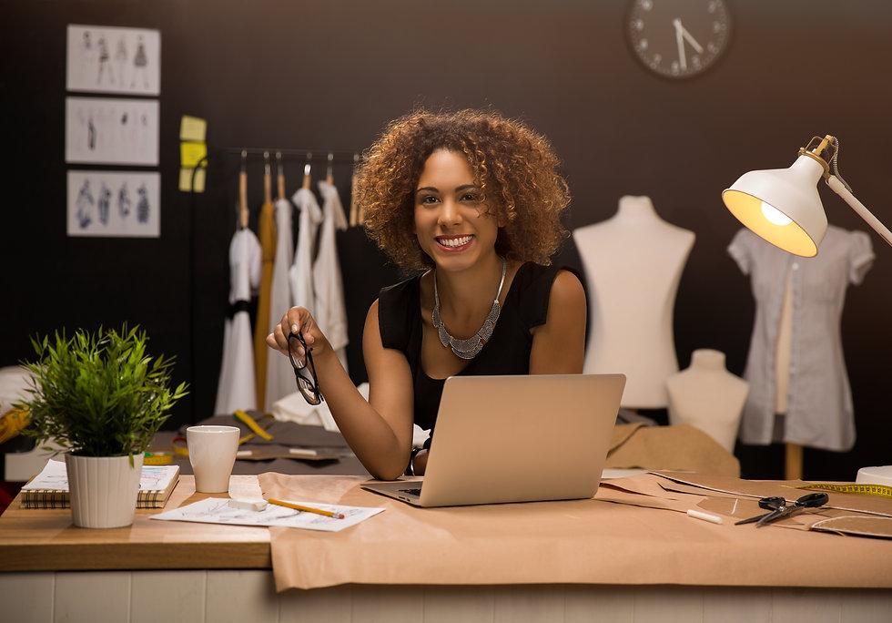 Two young entrepreneur women, and fashio