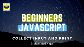 Collect input and Print result in JavaScript - Exercises 1 - Level : Beginners
