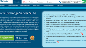 Shoviv Exchange Server Suite