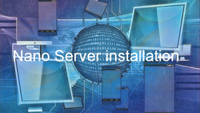 Installation of Nano Server