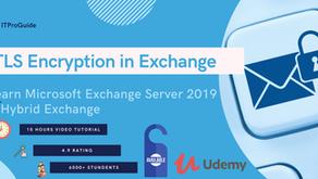 TLS Encryption not working - Exchange Server - Solved