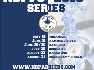 NB Paddlers Fishing Series 2019