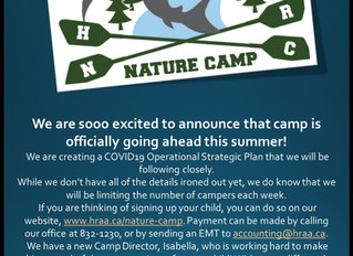 CAMP IS ON!!!